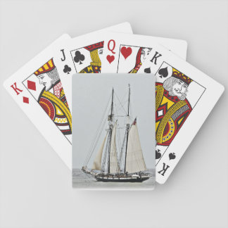 Tall ships playing cards