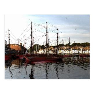 Tall Ships Postcard