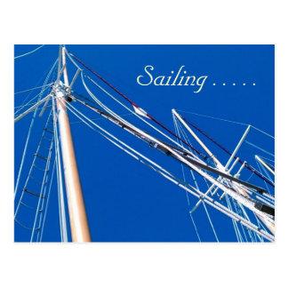 Tall Ships, Sailing . . . . . Postcard