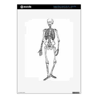 Tall Skeleton iPad 3 Decals