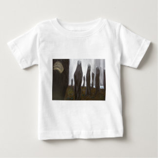 Tall Soldiers (black and white surrealism) Baby T-Shirt