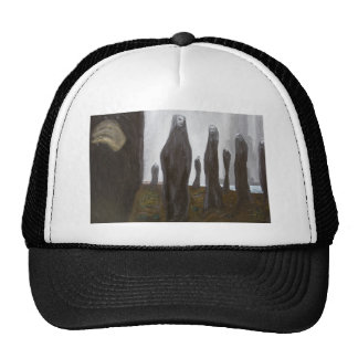 Tall Soldiers (black and white surrealism) Trucker Hats