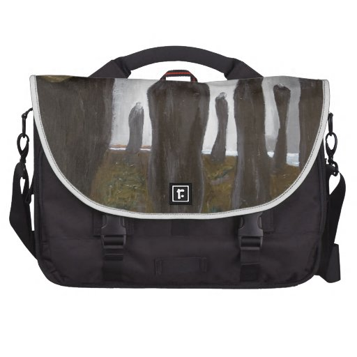 Tall Soldiers (black and white surrealism) Commuter Bag