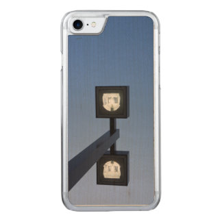 Tall streetlamp carved iPhone 7 case