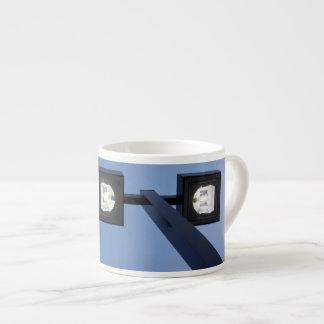 Tall streetlamp espresso cup