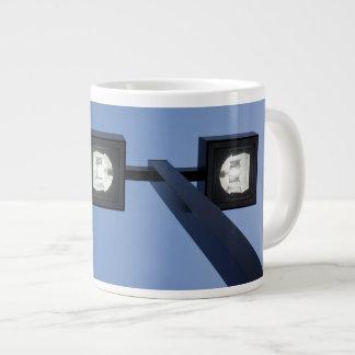 Tall streetlamp large coffee mug