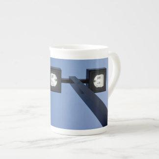 Tall streetlamp tea cup