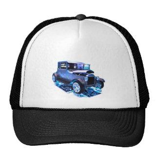 Tall T in blue Trucker Hat
