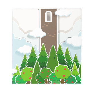 Tall tower in the jungle notepads