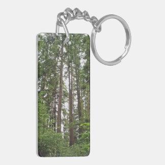 Tall Trees Acrylic Keychain