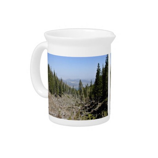 Tall trees beverage pitcher