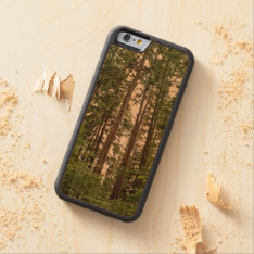 Tall Trees Carved Wood Phone Case at Zazzle