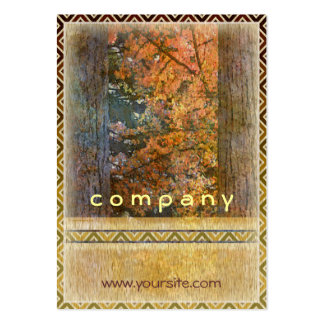 Tall Trees Northwest Large Business Card