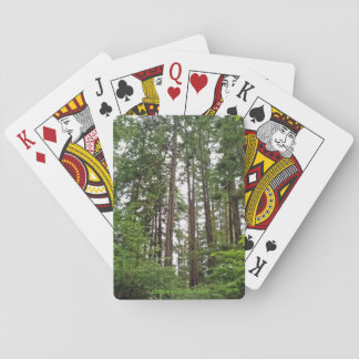 Tall Trees Playing Cards