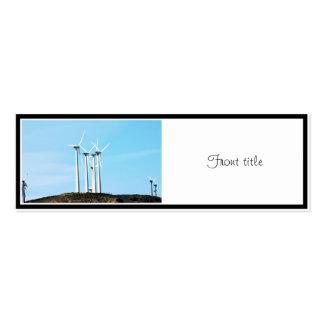 Tall Turbines Business Card