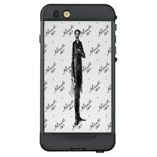 Tall USA President Abraham Lincoln Black and White LifeProof NÜÜD iPhone 6s Plus Case