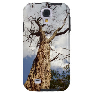 Tall walnut tree clouds Galaxy S4 Case