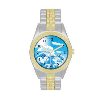 Tall Waves Wrist Watch