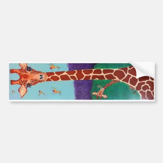 Tall, with freckles bumper sticker