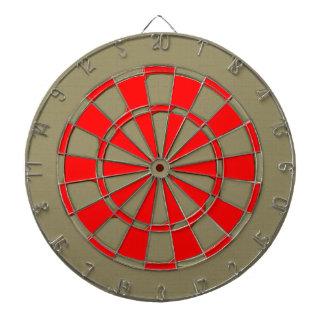 Talla abstracta roja del vintage tabla dardos