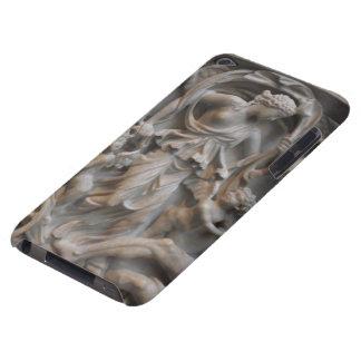 Talla de mármol del Selene, la diosa de la luna Case-Mate iPod Touch Protectores