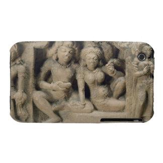 Talla de piedra de los amantes que gozan de un iPhone 3 Case-Mate cárcasa