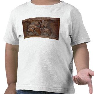 Talla de un molinero, de una parada del coro camiseta
