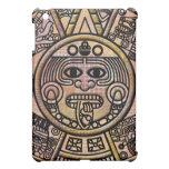 Talla maya antigua del disco del maya