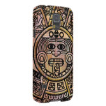 Talla maya antigua del disco del maya carcasa de galaxy s5