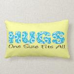 Talla única de los abrazos uno almohada