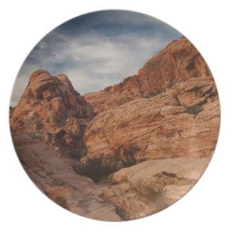 Tallado en piedra platos