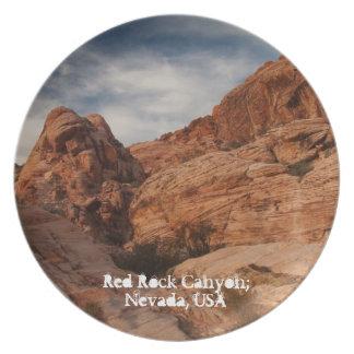 Tallado en piedra; Recuerdo de Nevada Platos