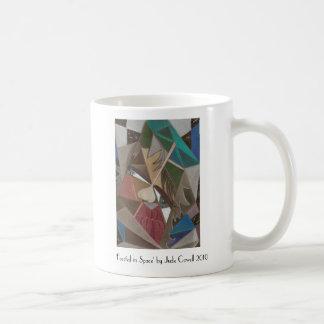 """""""Tallado en taza de café del espacio"""""""