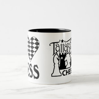 Tallahassee Chess Club I Love Chess Mug