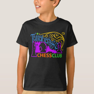 Tallahassee Chess Club Mardi Gras T-Shirt