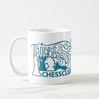 Tallahassee Chess Club Teal Swirl Mug