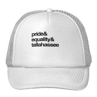 TALLAHASSEE EQUALITY AND PRIDE -.png Mesh Hat