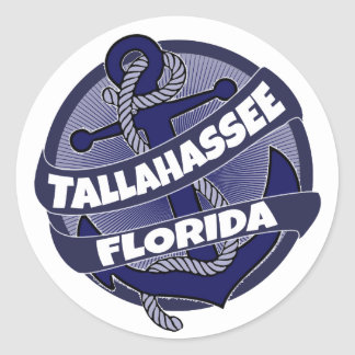 Tallahassee Florida anchor stickers