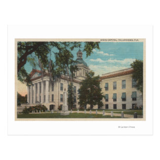 Tallahassee, Florida - Exterior View of State Postcard