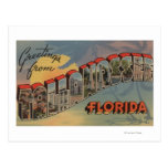 Tallahassee, Florida - Large Letter Scenes Postcard