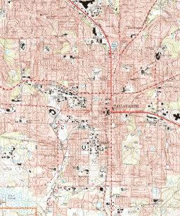 Tallahassee Florida Map.Tallahassee Fl Map Gifts On Zazzle