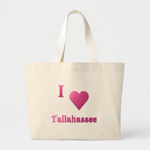 Tallahassee -- Hot Pink Canvas Bag