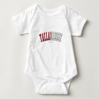 Tallahassee in Florida state flag colors Baby Bodysuit