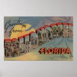 Tallahassee, la Florida - escenas grandes de la le Posters