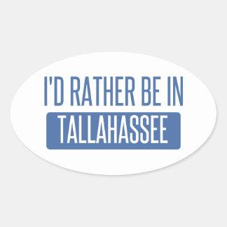 Tallahassee Oval Sticker