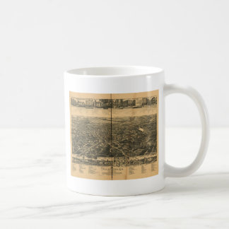 Tallapoosa, Georgia in 1892 Coffee Mug