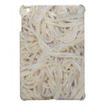Tallarines cocinados de los espaguetis iPad mini fundas