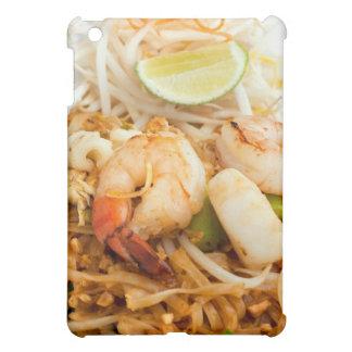 Tallarines de arroz frito tailandeses del cojín de