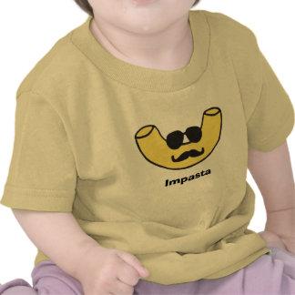 Tallarines de los macarrones de Impasta Camiseta