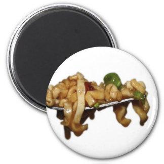 Tallarines del pote imán redondo 5 cm